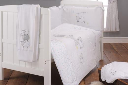 East Coast Silver Cloud Counting Sheep 3 Piece Bedding Bale