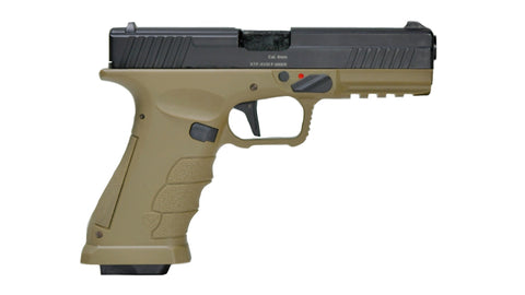 APS XTP GBB Pistol Two tone (Black slide with Tan frame)