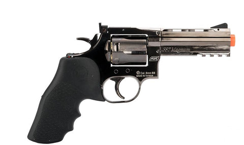 "ASG Dan Wesson 715 4"" Revolver (Steel Grey)"