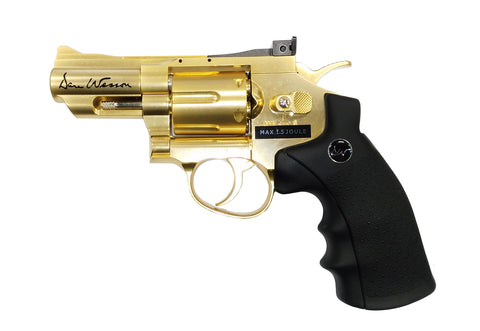 "ASG 2.5"" Dan Wesson Revolver Gold (Refurbished)"