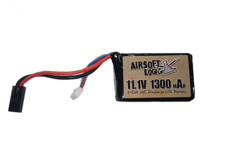 Airsoft Logic LiPo Pack 11.1V 1300mAh 20C Mini Brick