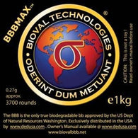 Bioval BBBMAX .27g Silica BB (NOT FOR USE IN GAMES)