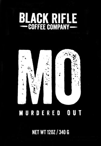 Black Rifle Coffee Murdered Out Blend
