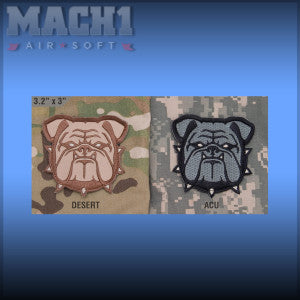 Mil-Spec Monkey Bulldog Head Large Patch