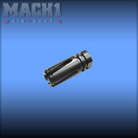 Steel Flash Hider for M4 Series - 14mm Clockwise