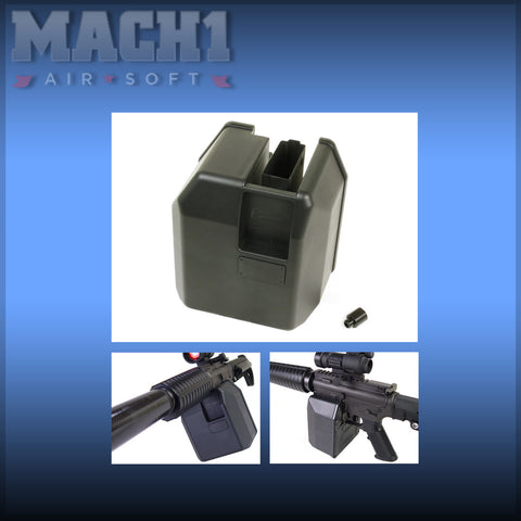 F.Factory M16 BOX Magazine with Adapter