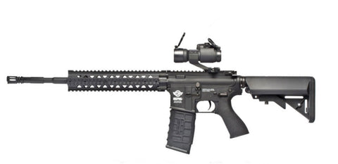 G&G CM16 R8 AEG Rifle with M2 Red Dot Sight