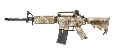 ICS M4A1 Retractable Stock Digital Camo