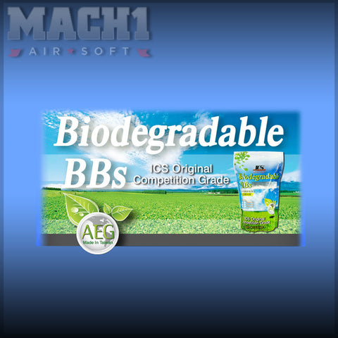 ICS Bio Bulk .25g White BB Bulk Bag (25kg)
