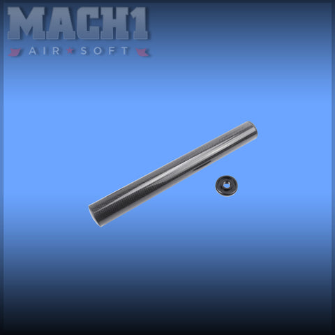 (CLEARANCE) King Arms Carbon Fiber Silencer 41x335mm