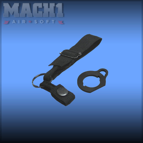 King Arms Metal Rear Sling Adaptor for M16A2 A1