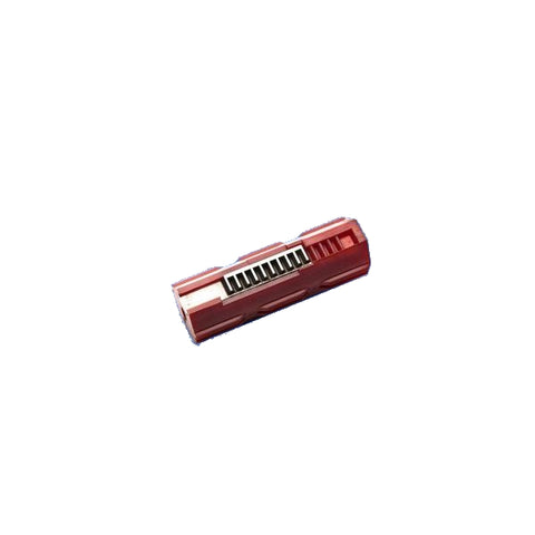 Extreme Toughness Polycarbonate Piston Ten Teeth - Burgundy