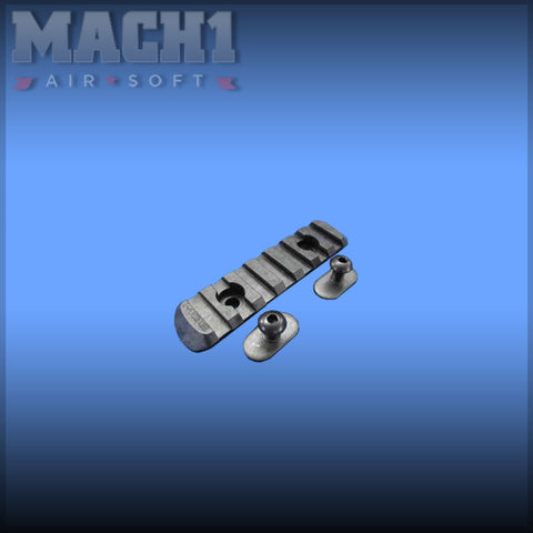 PTS MOE Polymer Rail Section - Size L3 (7 Slots)