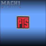 Magpul PTS Logo Patch - Red Black