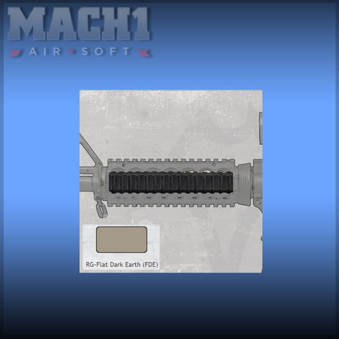 Manta 6 Inch Very Low Profile Rail Cover - FDE