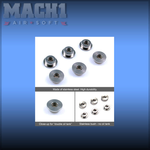 Modify Stainless Steel bushings Oilless design