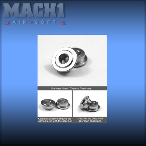 Modify tempered Stainless Bushings 6mm (6 Pcs)