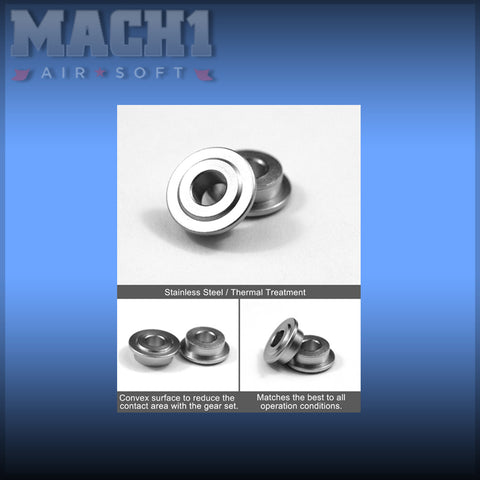 Modify Tempered Stainless Bushing 8mm (6 pcs)