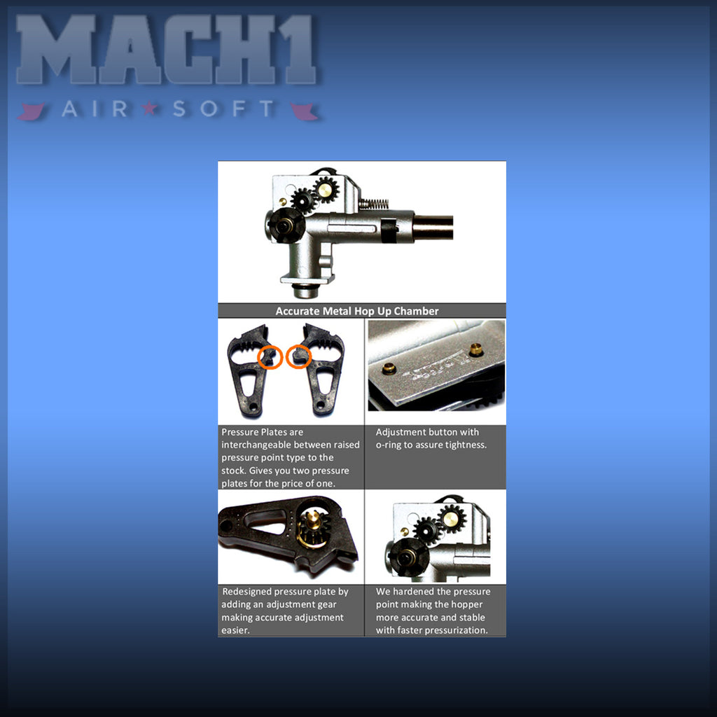 Metal Hop Up Chamber for M16/M4 Series