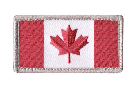 MSM Canadian Flag Patch (Various Colours)