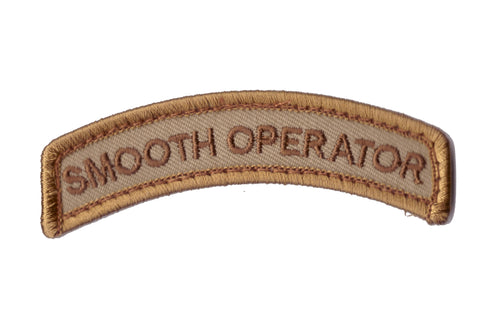 MSM Smooth Operator Patch (Various Colours)