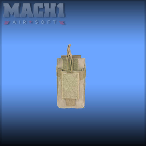 NC Star AR Single Mag Pouch Tan
