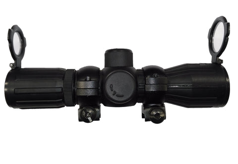 NcStar Rubber Tactical Compact 4x30E Double Illumination Scope