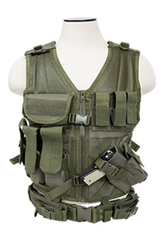 NC Star Tactical Vest Green Large (XL-2XL)