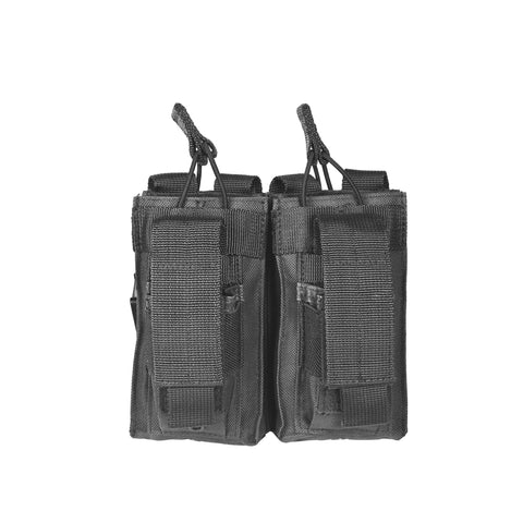 NC Star AR Double Rifle and Pistol Mag Pouch Black