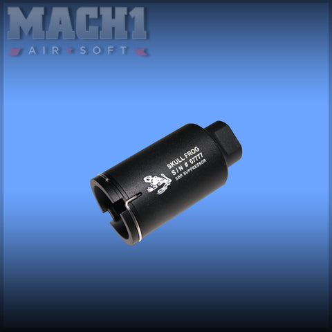 Element NOV M4 Mini Version Skull Frog Style Flash Hider BK