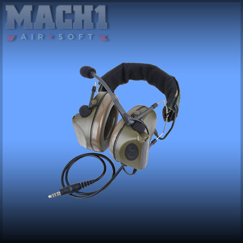 Comtac 2 Headset - Foliage Green