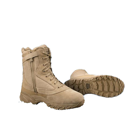 "Original S.W.A.T. Chase 9"" Side Zip Boot - Tan"
