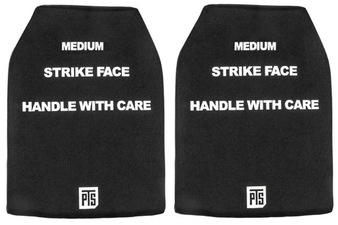 PTS SAPI Dummy Plate Set (Front and Back) Medium Sized