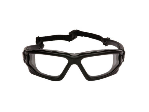 Pyramex I-Force Slim  Goggles (Dual Pane, Clear)