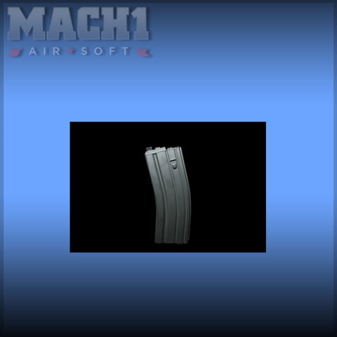 WE M4 Gas Magazine For Open Bolt System - Black