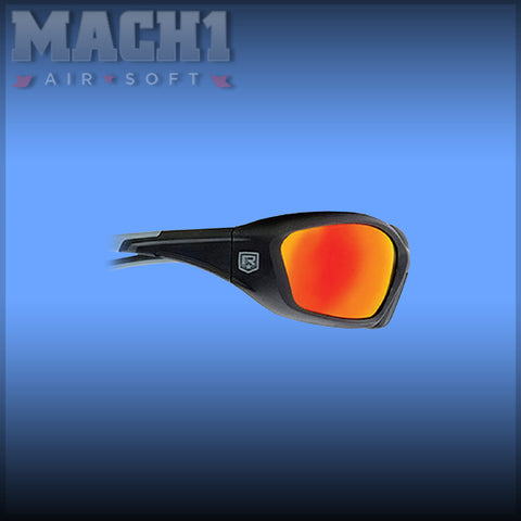 Hellfy Black Frame - Flame Mirror Lens