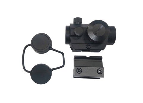 T1 Micro Red & Green Dot Sight with Low and High Mount