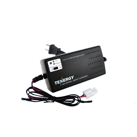 Tenergy Universal Smart Charger for NiMH/NiCd Battery Packs (6V - 12V)