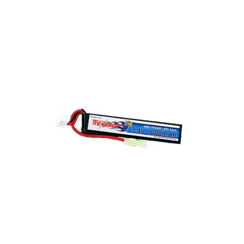 High Power LiPo Pack 7.4V 1000mAh