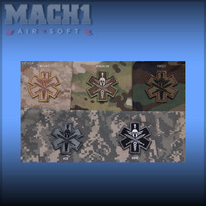 MSM Tactical Medic – Spartan Patch  (Various Colours)