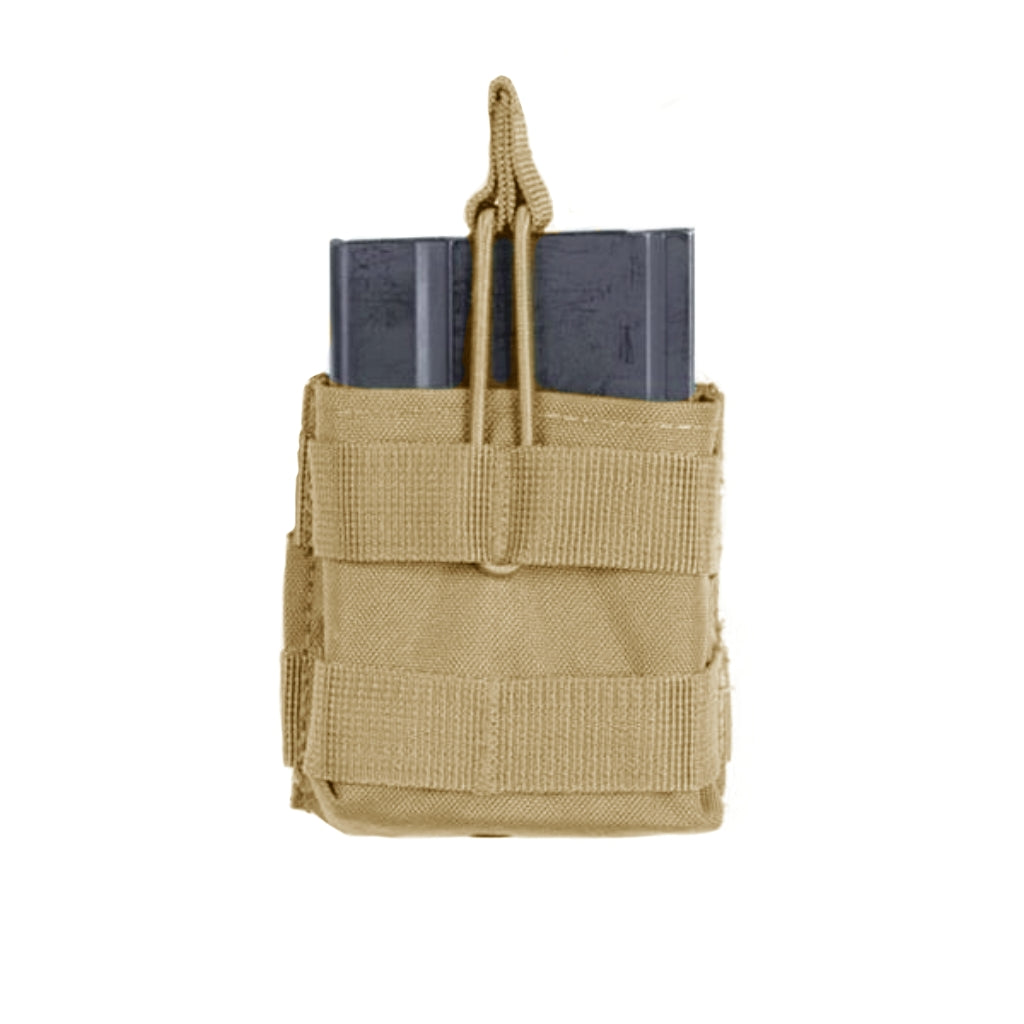 Voodoo Tactical M14/M1A/FAL/SCAR-H/SR-25/G3 Single Open Top Mag Pouch