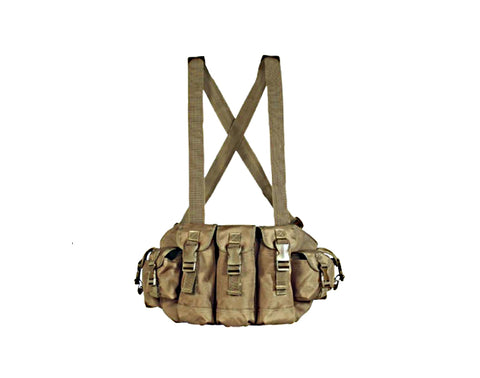 Voodoo Tactical 7 Pocket Chest Rig with Waterproof Pockets