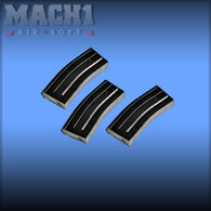VFC SCAR L M4 120rd Mag Black Set of 3