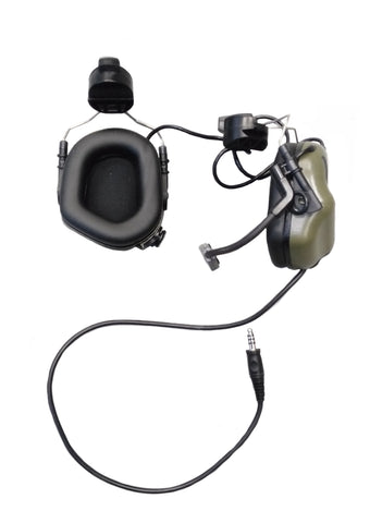 EARMOR M32H MOD3 TACTICAL HEADSET WITH ARC SYSTEM (Foliage Green)