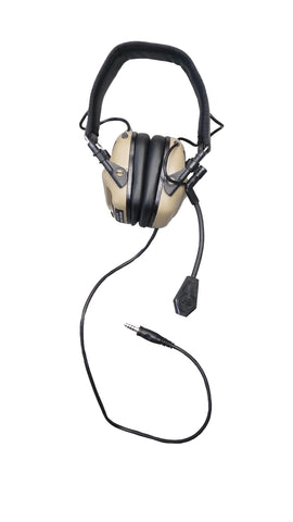 EARMOR M32 MOD3 Tactical Headset (Coyote Tan)