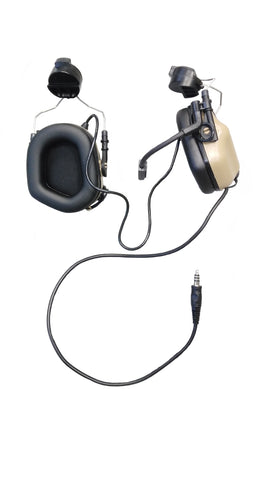 EARMOR M32H MOD3 TACTICAL HEADSET WITH ARC SYSTEM (Coyote Tan)