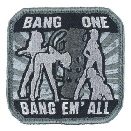 MSM Bang Em All – Large Patch (Various Colours)