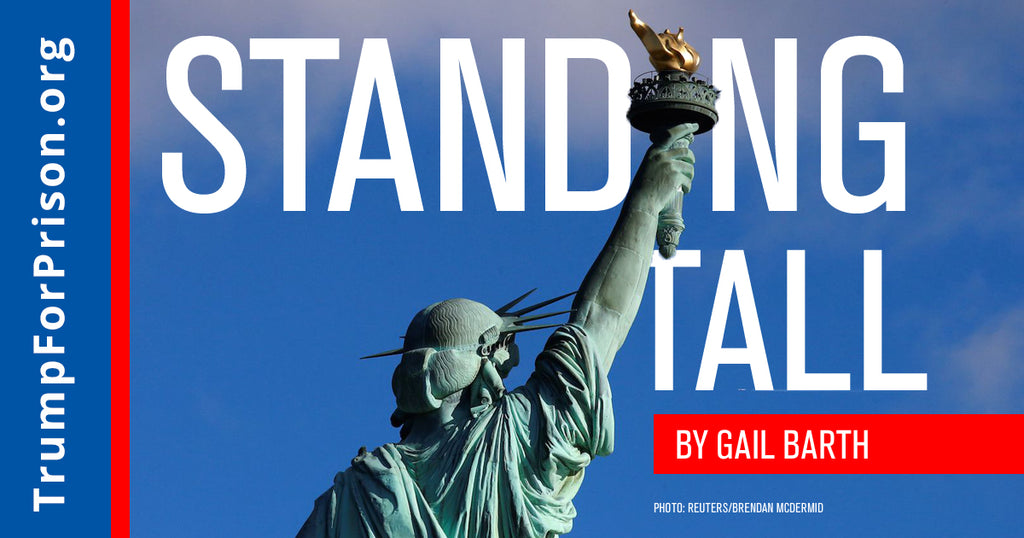 Standing Tall Trump For Prison