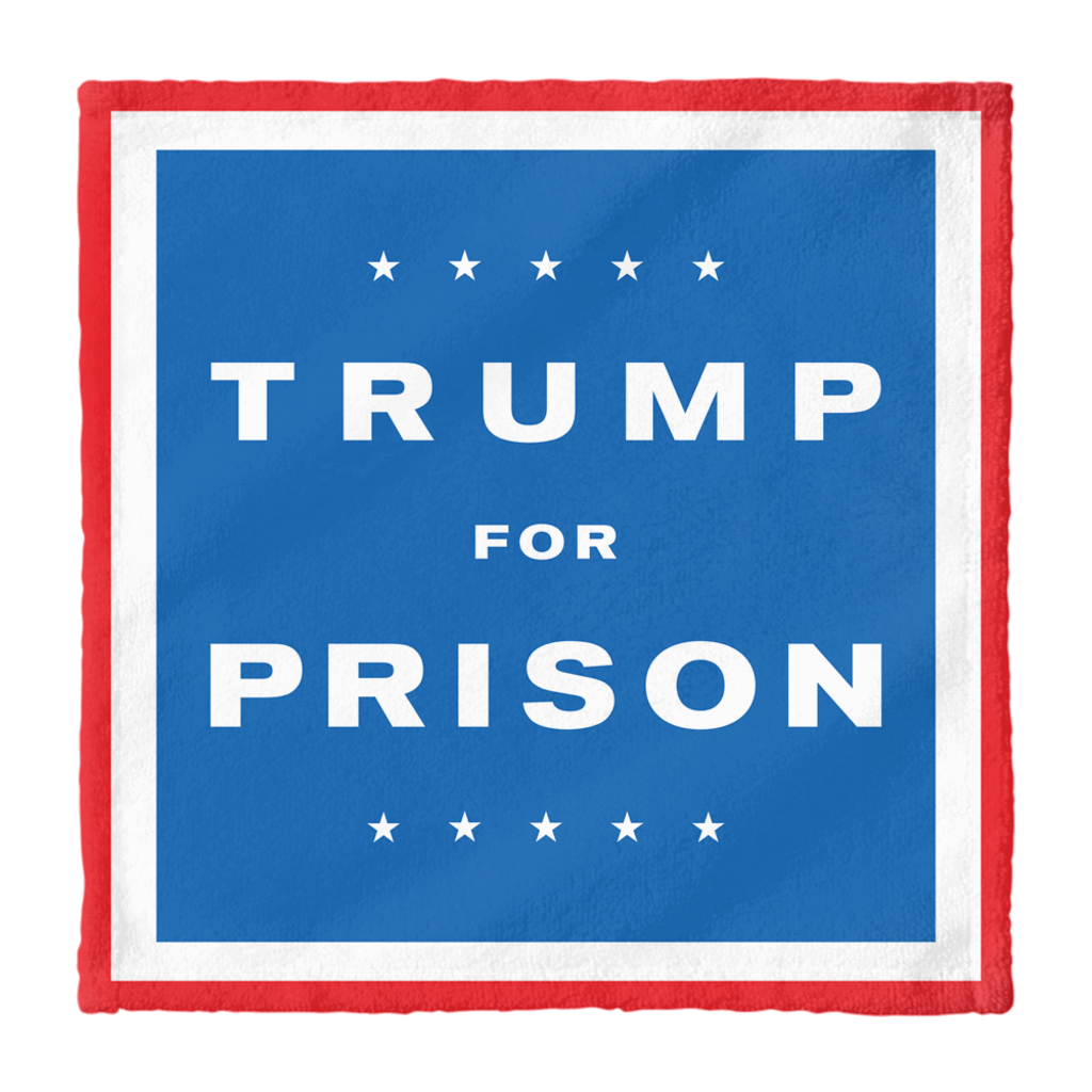 Trump For Prison Hand Towel