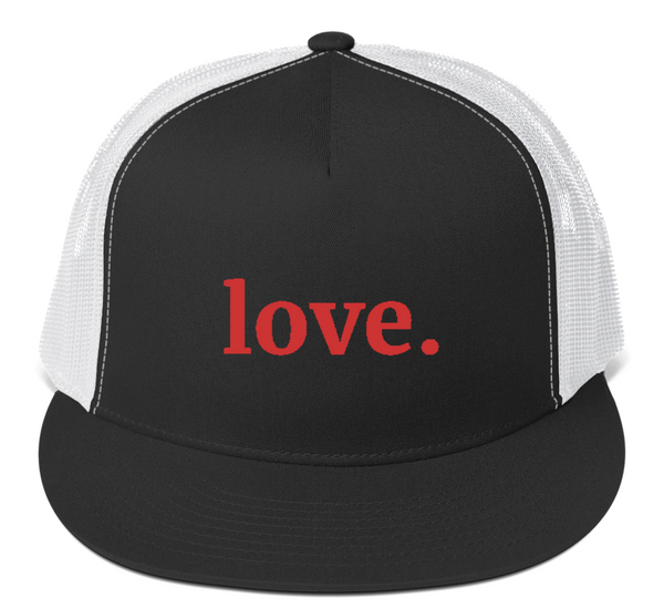 Love Trucker Cap (red)